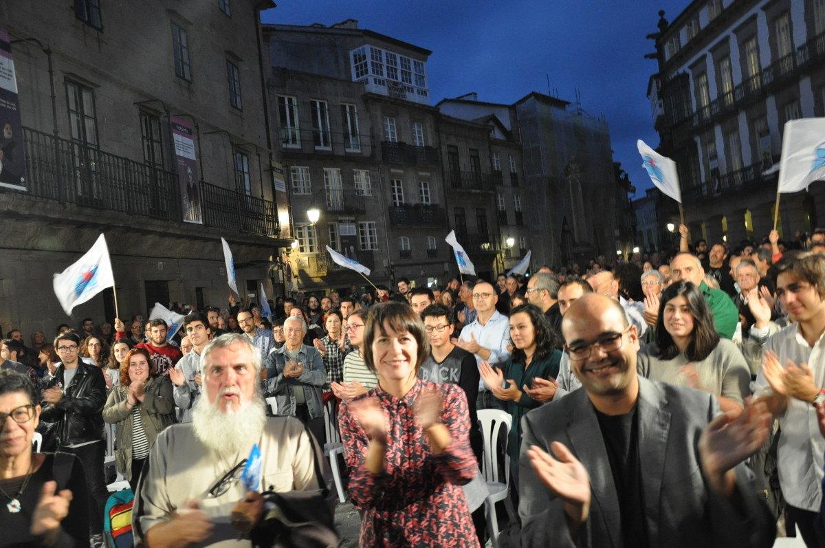 Acto público en Santiago de Compostela