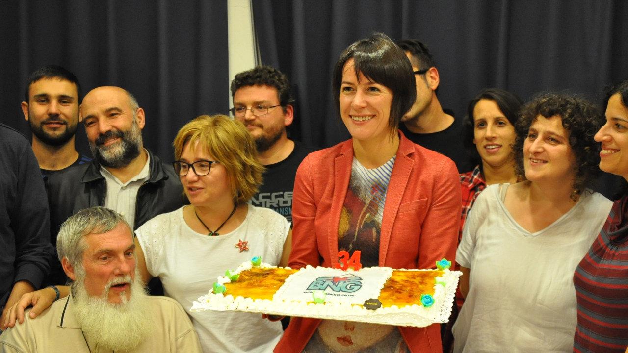 """Ana Pontón: """"Collemos aire nas velas e o BNG vai traballar para ser alternativa ao PP en 4 anos""""...+...+"""