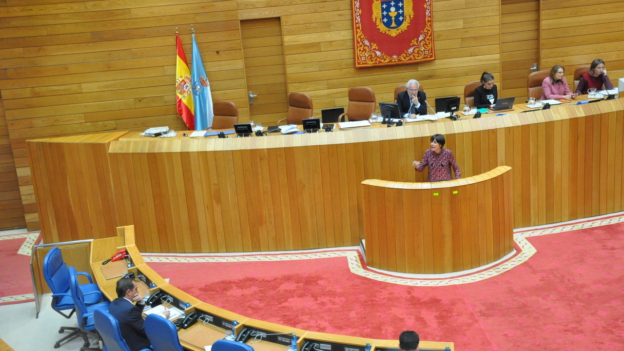 Ana Pontón no Parlamento Galego