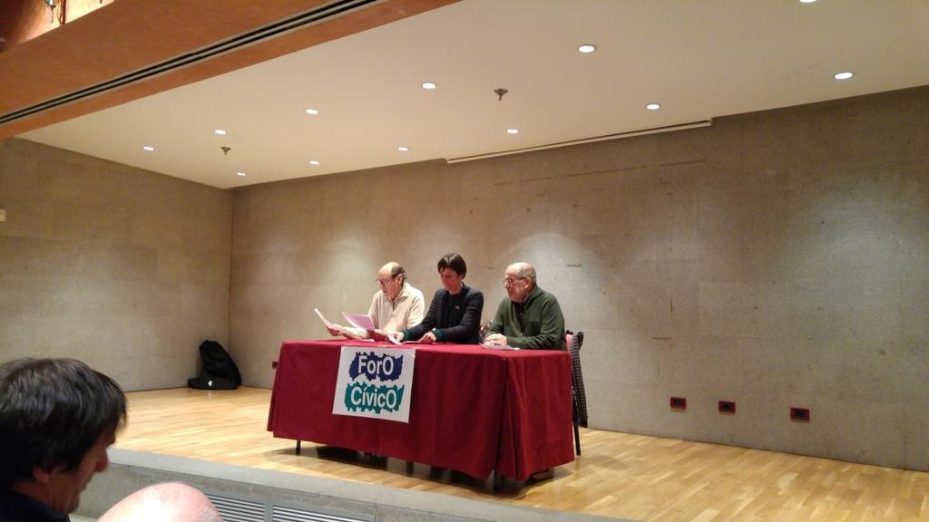 Conferencia de Ana Pontón no Foro Cívico da Coruña