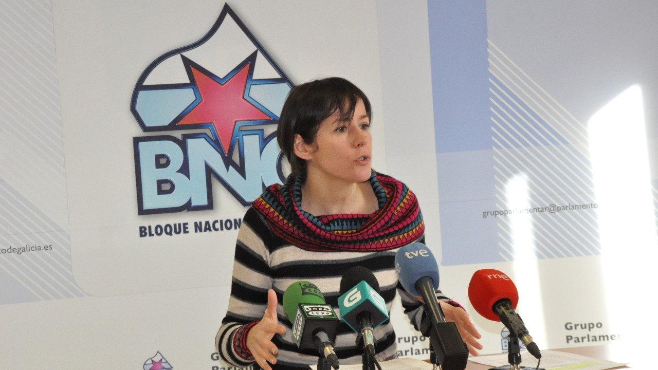 Ana Pontón culpa a Feijóo de paralizar a Comisión das Caixas para ocultar a verdade