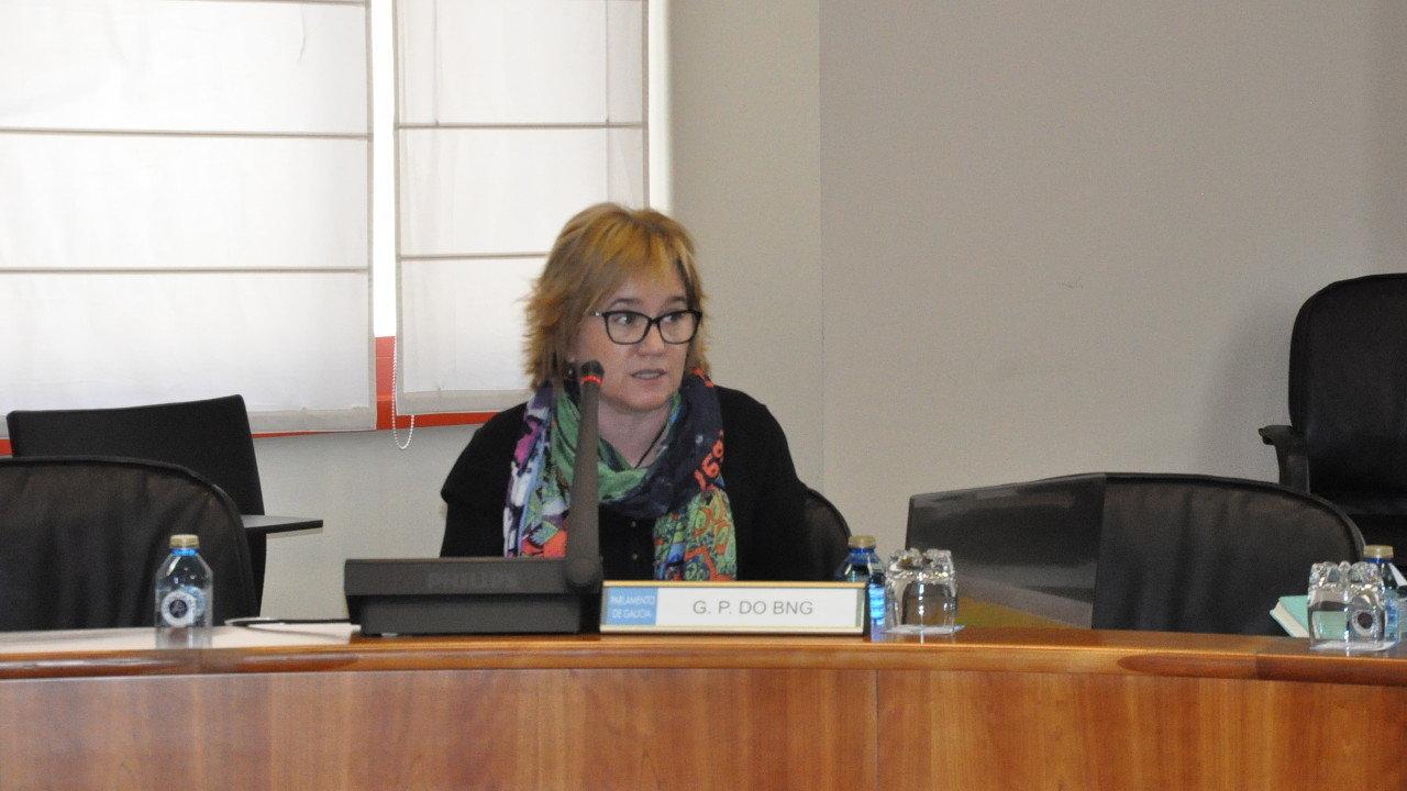 Montse Prado propón un novo modelo de reparto das cotas de pesca con criterios de emprego
