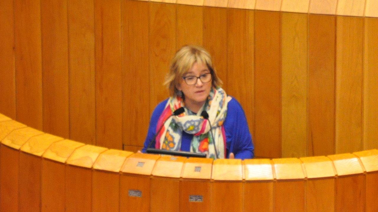 Montse Prado denuncia as deficiencias do servizo de transporte sanitario dunha empresa vinculada ao PP