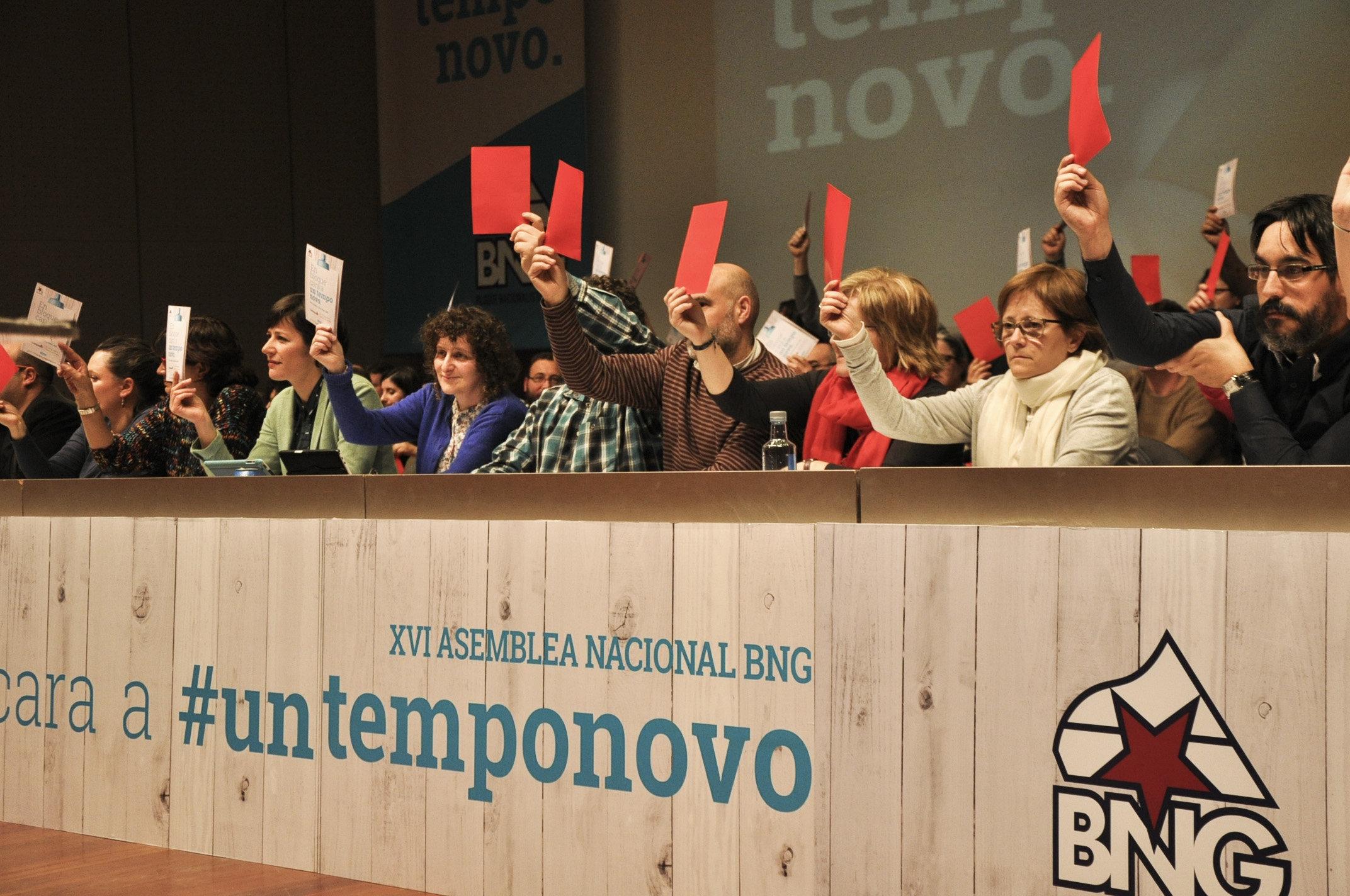 Ana Pontón abre a #BNGXVI homenaxeando á militancia e cun chamamento a agrandar a base social do BNG