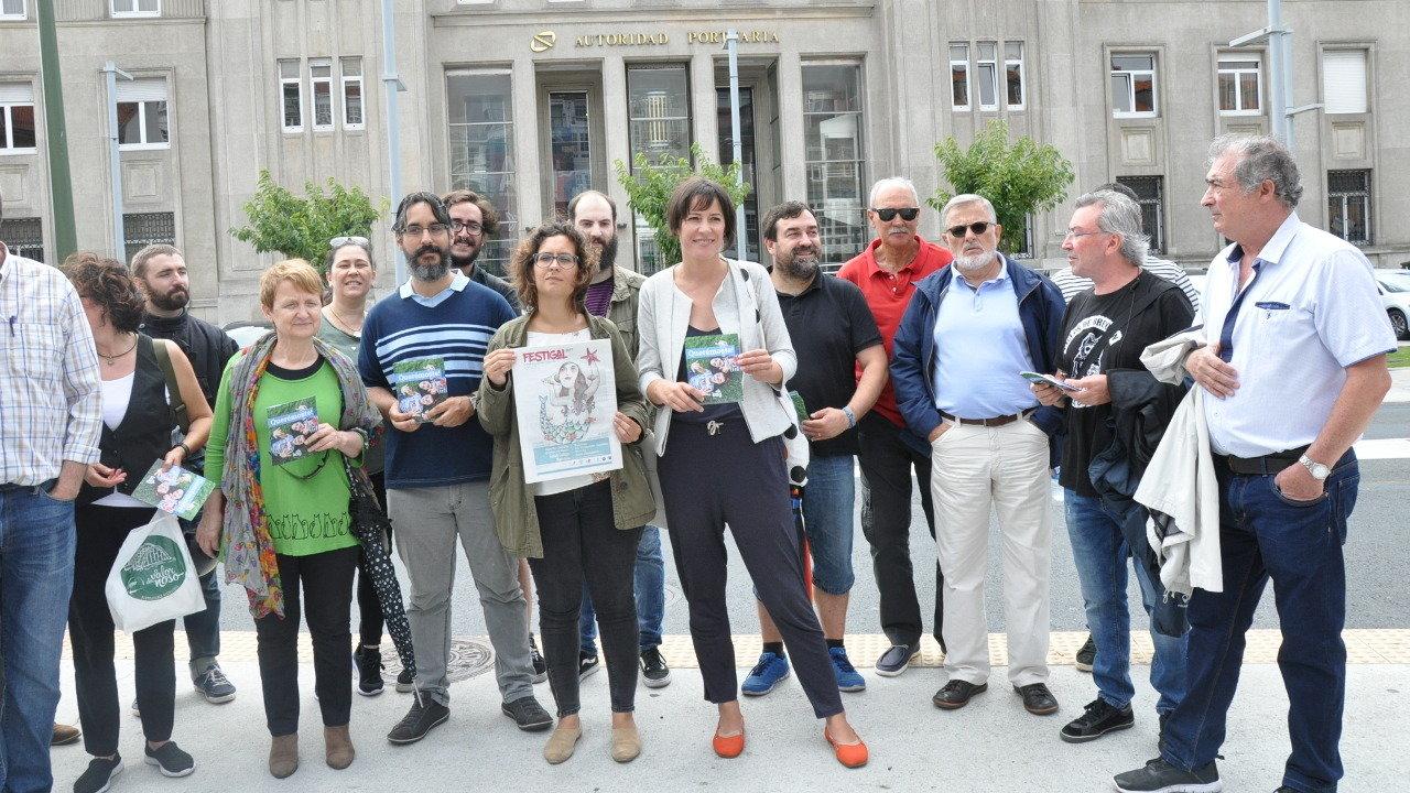 Piden que se poña fin a manipulación urbanística dos terreos públicos do porto de A Coruña