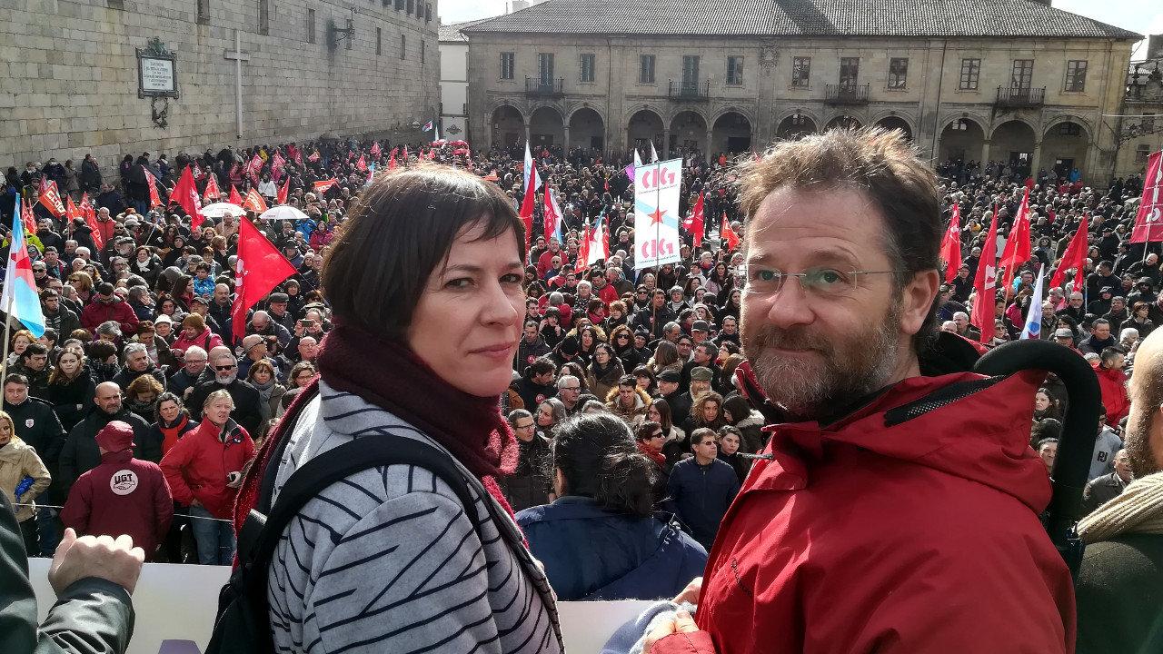 Ana Pontón e Paulo Carril