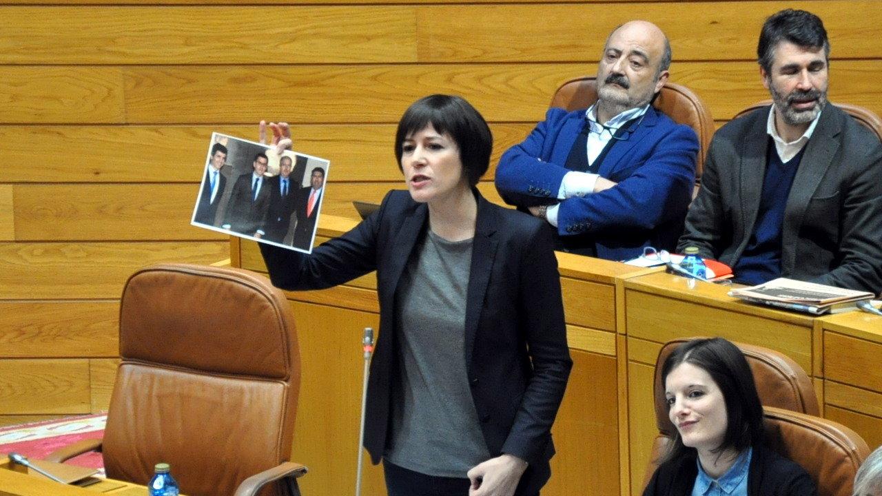 Ana Pontón acusa a Feixóo de usar a súa maioría para executar unha voadura programada dos servizos públicos