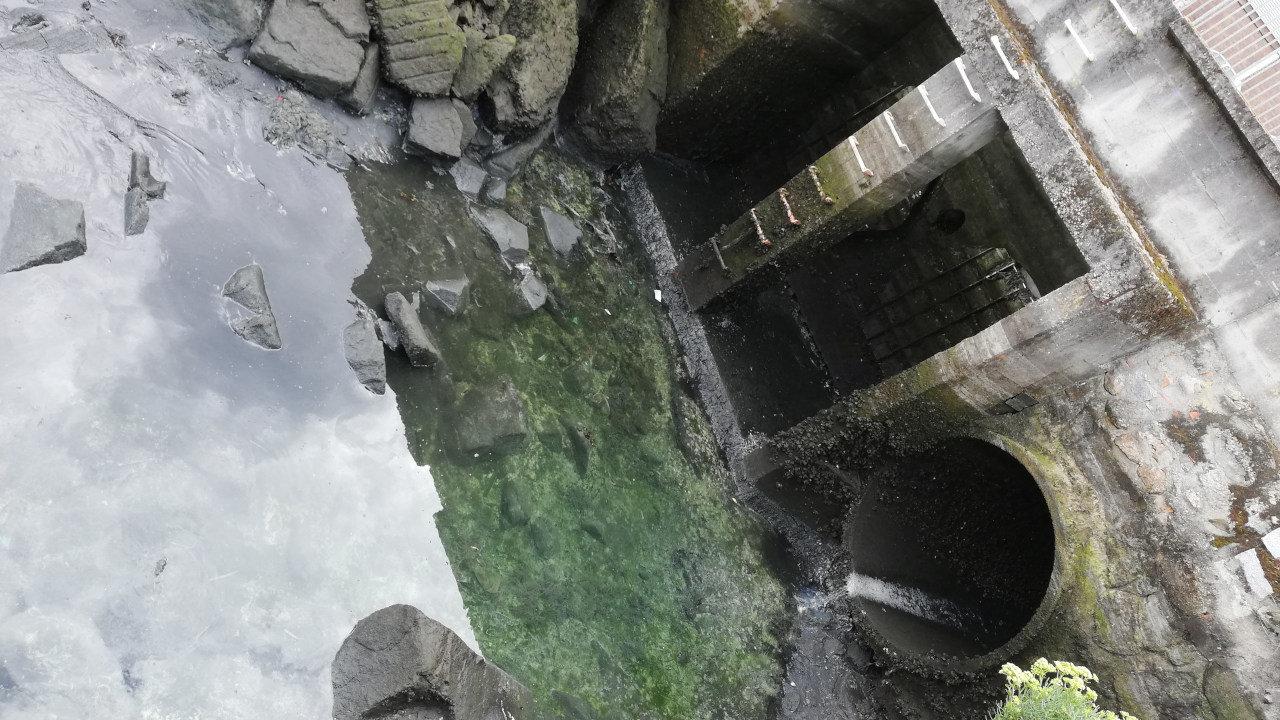 vertido ría Vigo