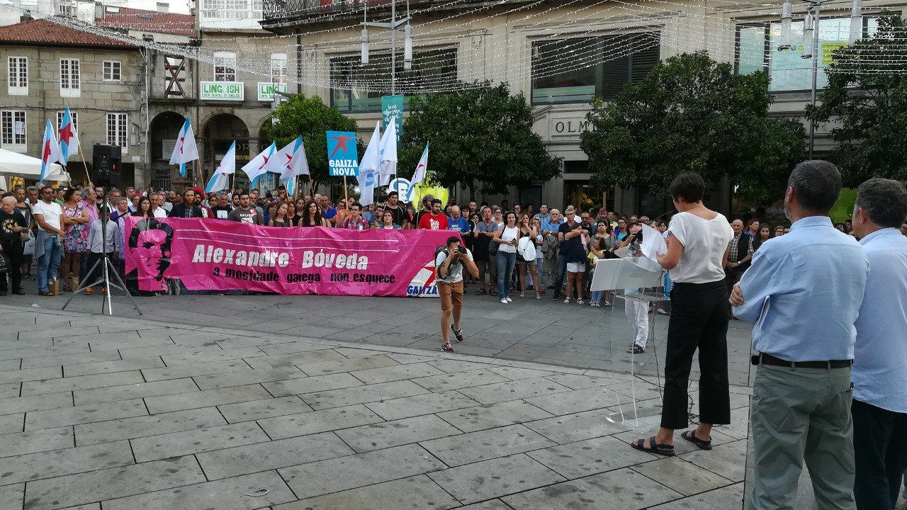 Acto público Galiza Mártir 1