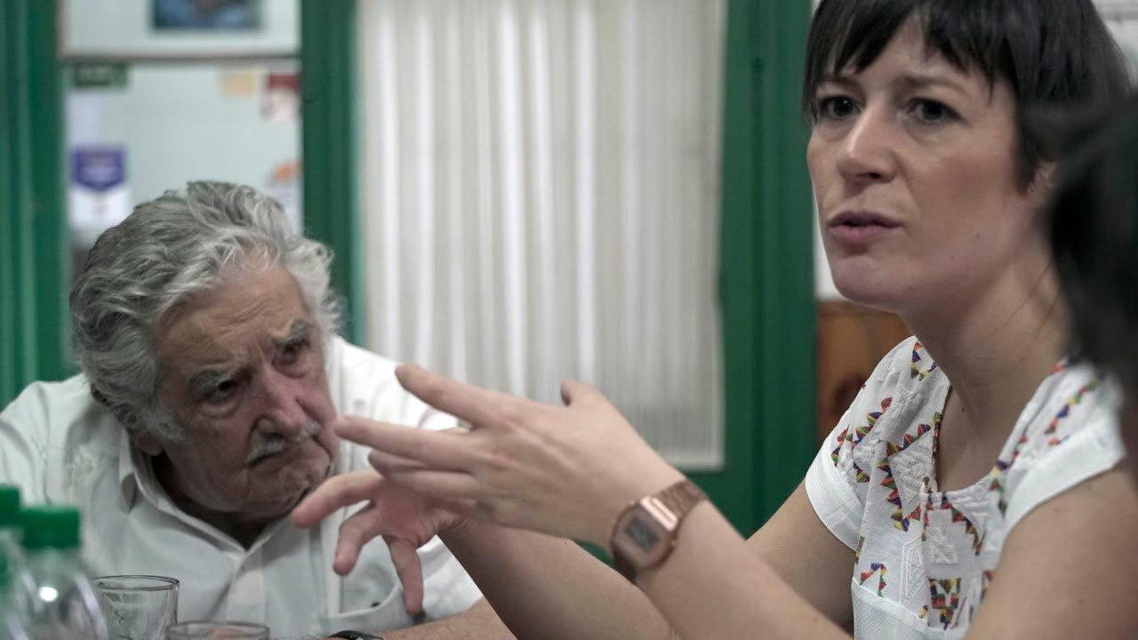 Pepe Mújica e Ana Pontón