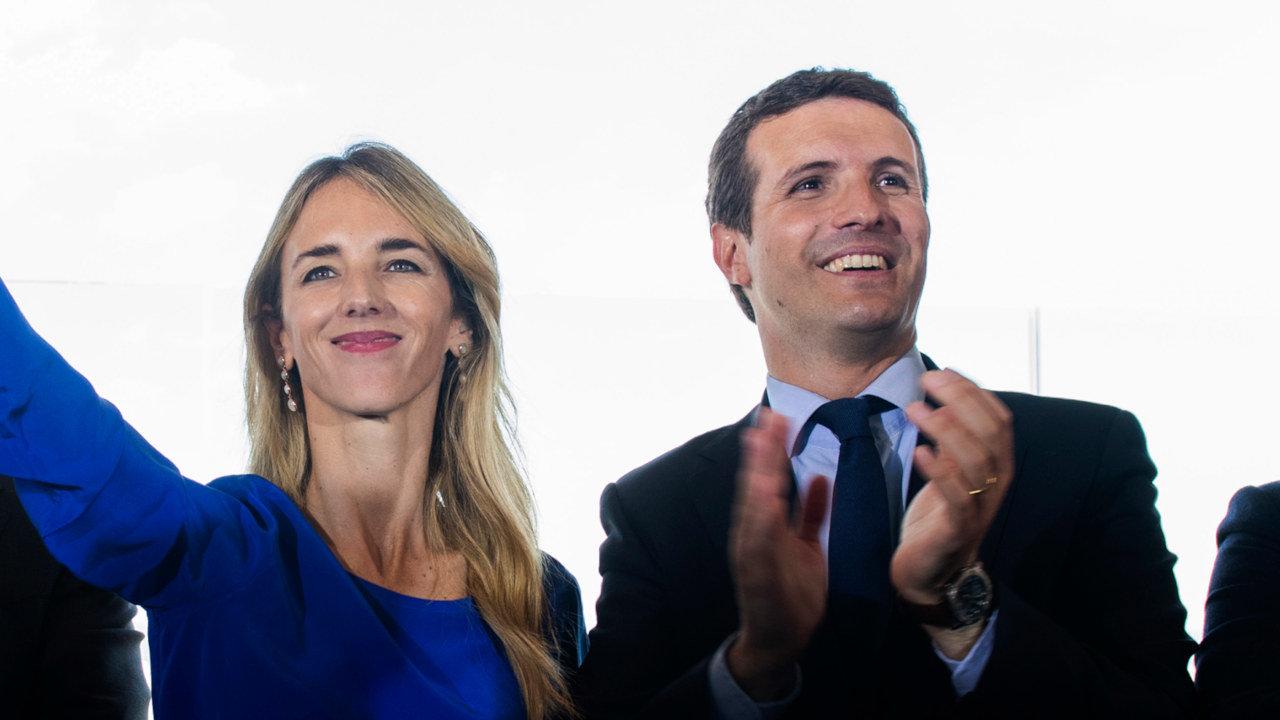 Cayetana Álvarez de Toledo e Pablo Casado