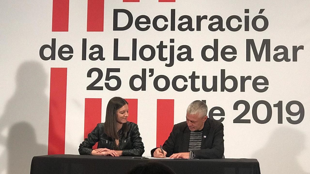 Olalla Rodil e Bieito Lobeira