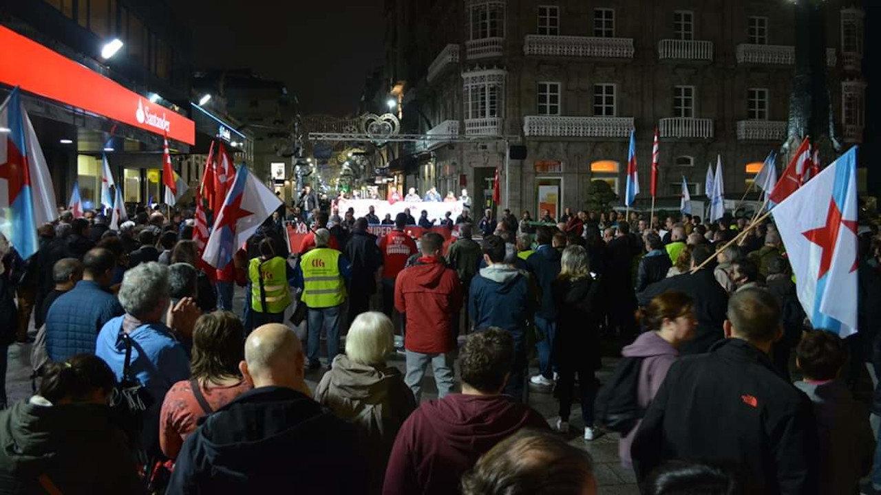 Manifestación Vigo