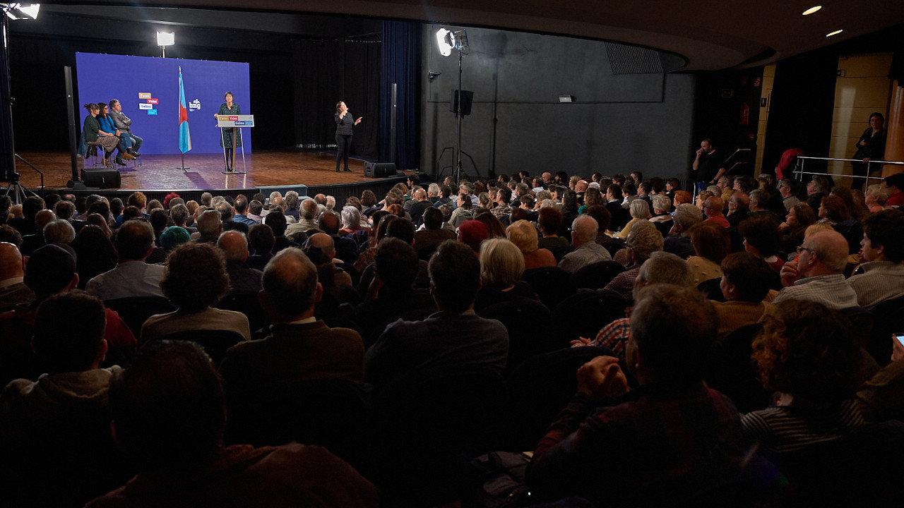"""Ana Pontón: """"Somos a única opción a favor de Galiza e dunha axenda social e e dereitos"""""""