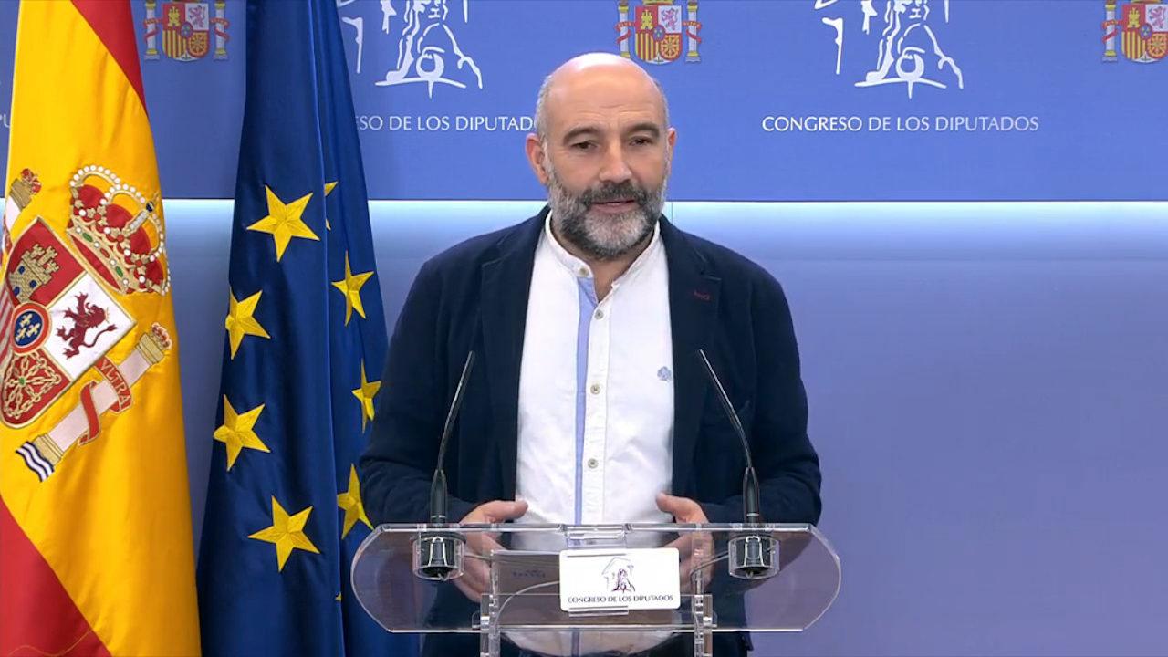 Néstor Rego, sobre a moción de censura: «O voto do BNG é en defensa da Galiza e a democracia»
